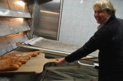 Véronqiue! The bakery has been around for a good forty years and they serve a big portion of Les Halles.